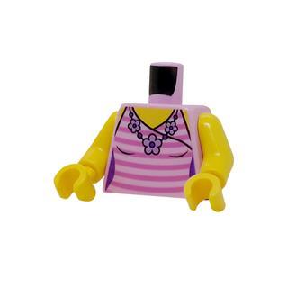 LEGO LSK1231 - LEGO Alkatrészek - Minifigura torzó (1231)