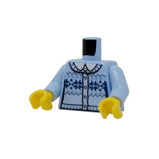 LEGO LSK1232 - LEGO alkatrész - Minifigura torzó