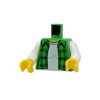 LEGO LSK1235 - LEGO Alkatrészek - Minifigura torzó (1235)