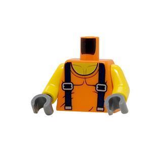 LEGO LSK1236 - LEGO alkatrész - Minifigura torzó