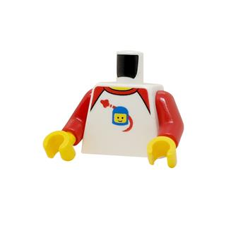 LEGO LSK1237 - LEGO alkatrész - Minifigura torzó