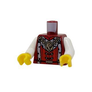 LEGO LSK1243 - LEGO Alkatrészek - Minifigura torzó (1243)
