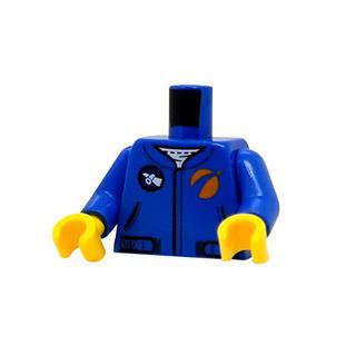 LEGO LSK1287 - LEGO alkatrész - Minifigura torzó