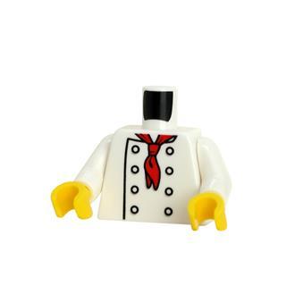 LEGO LSK1358 - LEGO alkatrész - Minifigura torzó