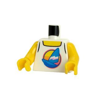 LEGO LSK1359 - LEGO Alkatrészek - Minifigura torzó (1359)