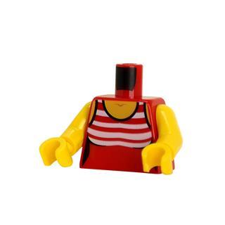 LEGO LSK1363 - LEGO alkatrész - Minifigura torzó