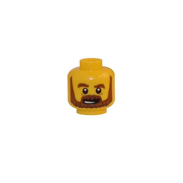 LEGO LSK138 - LEGO Alkatrészek - Minifigura fej (138)