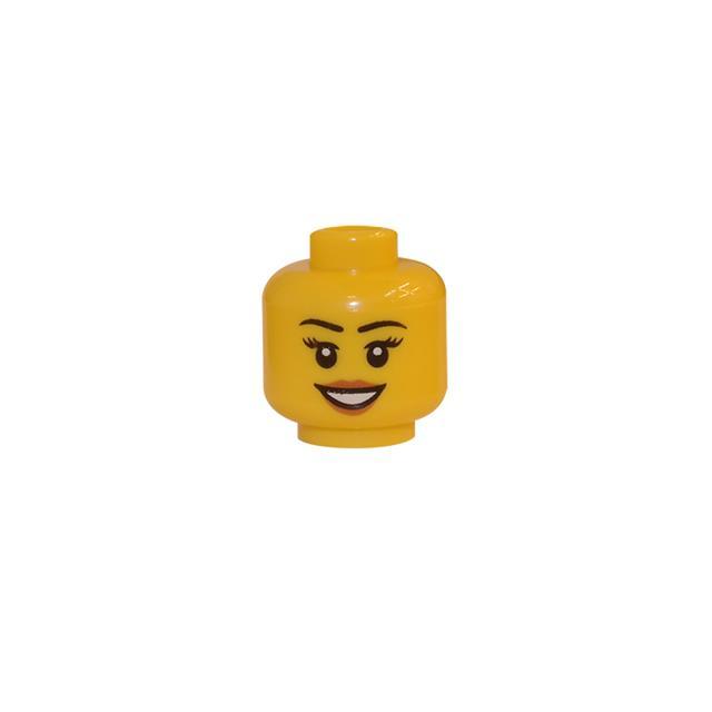 LEGO LSK143 - LEGO Alkatrészek - Minifigura fej (143)