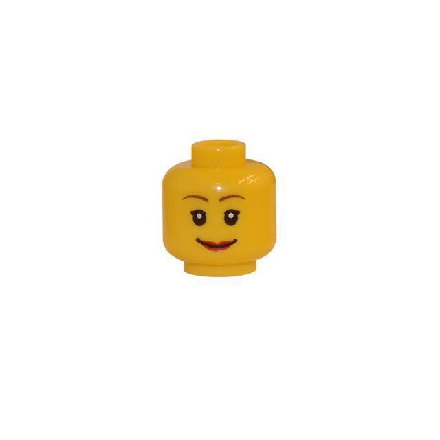 LEGO LSK150 - LEGO Alkatrészek - Minifigura fej (150)