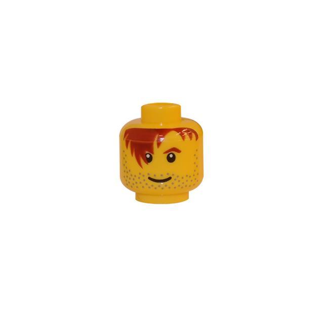 LEGO LSK152 - LEGO Alkatrészek - Minifigura fej (152)