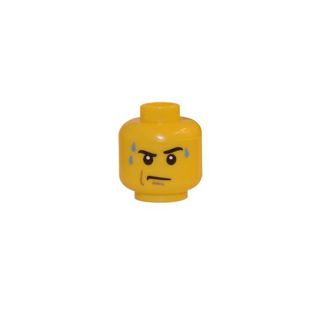 LEGO LSK154 - LEGO Alkatrészek - Minifigura fej (154)