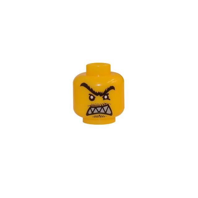 LEGO LSK163 - LEGO Alkatrészek - Minifigura fej (163)