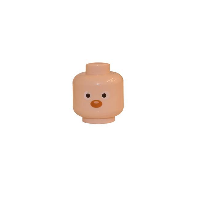 LEGO LSK173 - LEGO Alkatrészek - Minifigura fej (173)