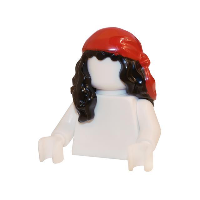 LEGO LSK246 - LEGO Alkatrészek - Minifigura haj (246)