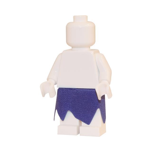 LEGO LSK291 - LEGO Alkatrészek - Lila tépett szoknya (291)