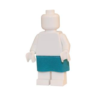 LEGO LSK293 - LEGO Alkatrészek - Türkiz szoknya (293)