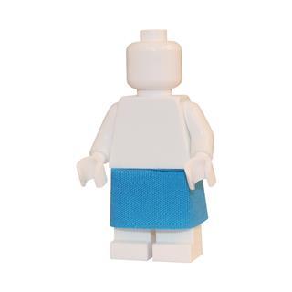 LEGO LSK295 - LEGO Alkatrészek - Világoskék szoknya (295)