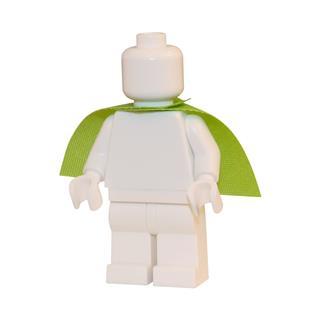 LEGO LSK297 - LEGO Alkatrészek - Lime palást (297)