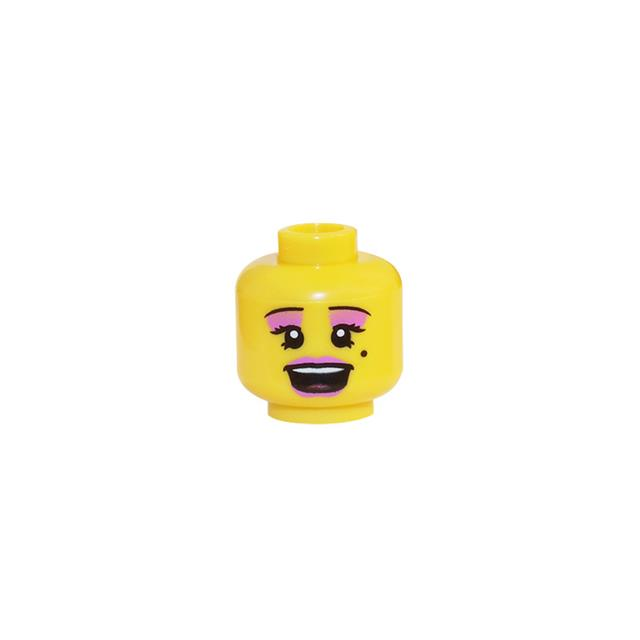 LEGO LSK305 - LEGO Alkatrészek - Minifigura fej (305)