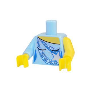 LEGO LSK325 - LEGO alkatrész - Minifigura torzó