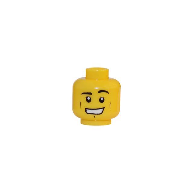 LEGO LSK382 - LEGO Alkatrészek - Minifigura fej (382)