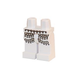 LEGO LSK386 - LEGO Alkatrészek - Minifigura láb (386)
