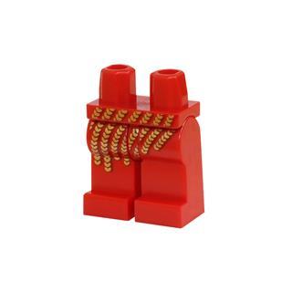LEGO LSK387 - LEGO Alkatrészek - Minifigura láb (387)