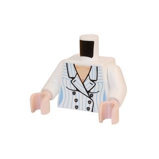 LEGO LSK388 - LEGO Alkatrészek - Minifigura torzó (388)