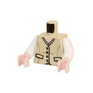 LEGO LSK389 - LEGO Alkatrészek - Minifigura torzó (389)