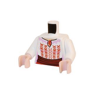 LEGO LSK392 - LEGO Alkatrészek - Minifigura torzó (392)