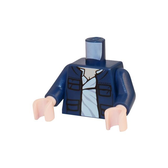 LEGO LSK395 - LEGO Alkatrészek - Minifigura torzó (395)
