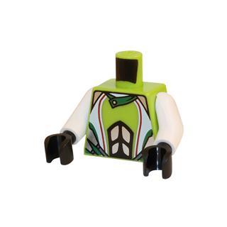LEGO LSK396 - LEGO alkatrész - Minifigura torzó