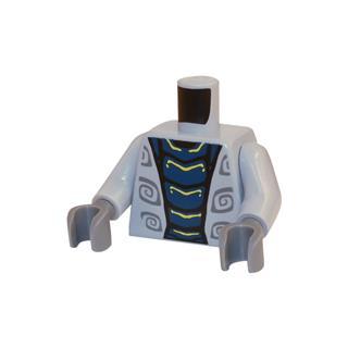 LEGO LSK397 - LEGO Alkatrészek - Minifigura torzó (397)