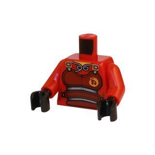 LEGO LSK398 - LEGO Alkatrészek - Minifigura torzó (398)