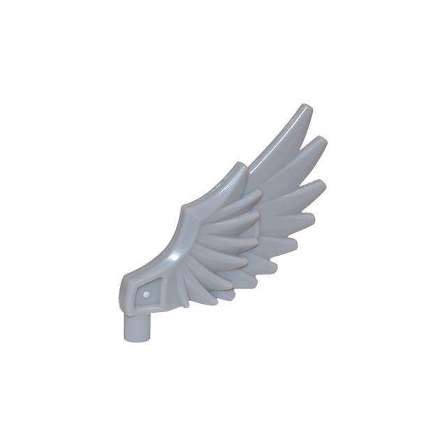 LEGO LSK421 - LEGO Alkatrészek - Szürke szárny (421)