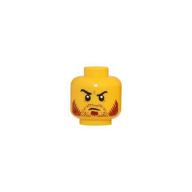 LEGO LSK430 - LEGO Alkatrészek - Minifigura fej (430)