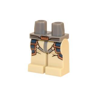LEGO LSK442 - LEGO Alkatrészek - Minifigura láb (442)