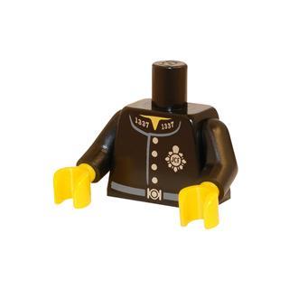 LEGO LSK453 - LEGO alkatrész - Minifigura torzó