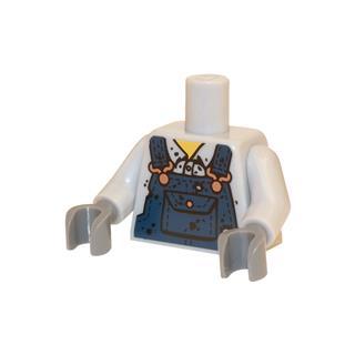 LEGO LSK455 - LEGO alkatrész - Minifigura torzó