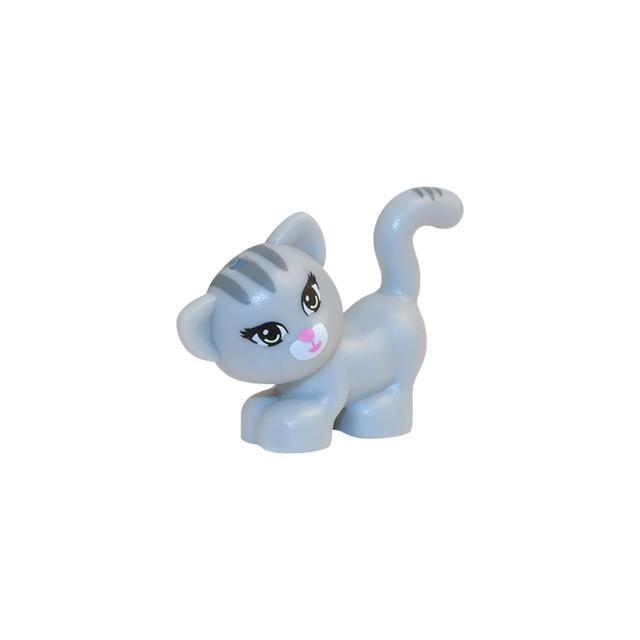 LEGO LSK464 - LEGO Alkatrészek - Szürke cica (464)