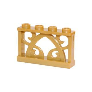 LEGO LSK465 - LEGO Alkatrészek - Arany Elf kerítés (465)