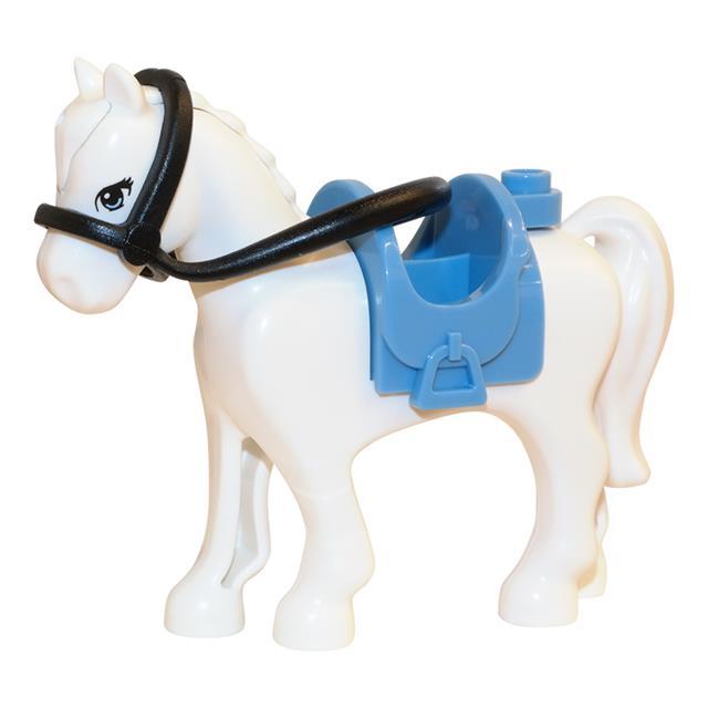 LEGO LSK476 - LEGO Alkatrészek - Fehér ló (476)