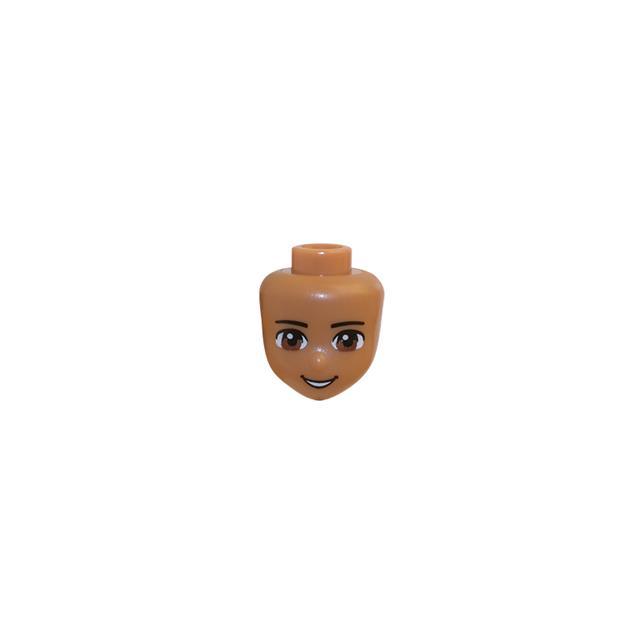 LEGO LSK493 - LEGO Alkatrészek - Minifigura fej (493)