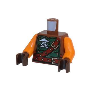 LEGO LSK512 - LEGO Alkatrészek - Minifigura torzó (512)