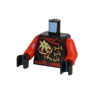 LEGO LSK513 - LEGO Alkatrészek - Minifigura torzó (513)