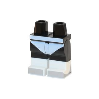 LEGO LSK514 - LEGO alkatrész - Minifigura láb (514)