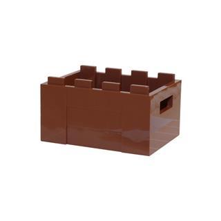 LEGO LSK602 - LEGO Alkatrészek - Barna láda (602)