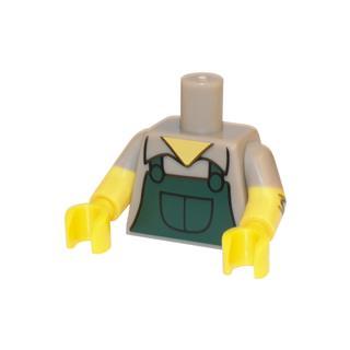 LEGO LSK620 - LEGO Alkatrészek - Minifigura torzó (620)