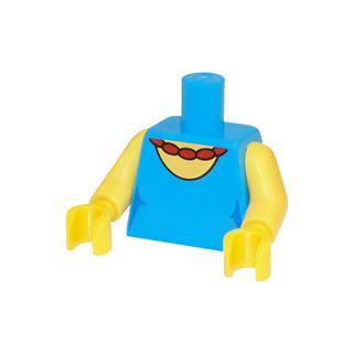 LEGO LSK624 - LEGO Alkatrészek - Minifigura torzó (624)