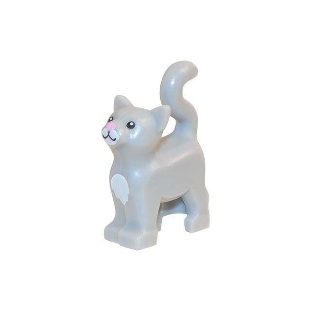 LEGO LSK642 - LEGO Alkatrészek - Szürke cica (642)